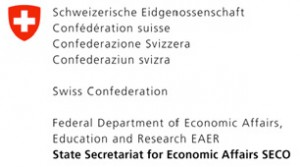 Swiss SECO Logo (bottom of each page) - logo